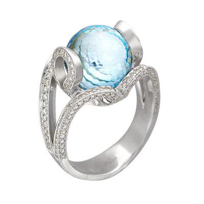 Золотое кольцо Ювелирное изделие 01K676500 золотое кольцо ювелирное изделие 01k623290