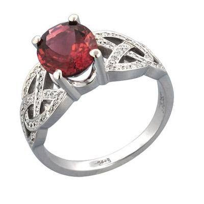 Золотое кольцо Ювелирное изделие 01K676501