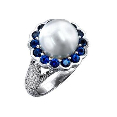 Золотое кольцо Ювелирное изделие 01K676684