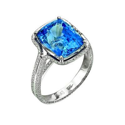 Золотое кольцо Ювелирное изделие 01K676711 золотое кольцо ювелирное изделие 01k675233l