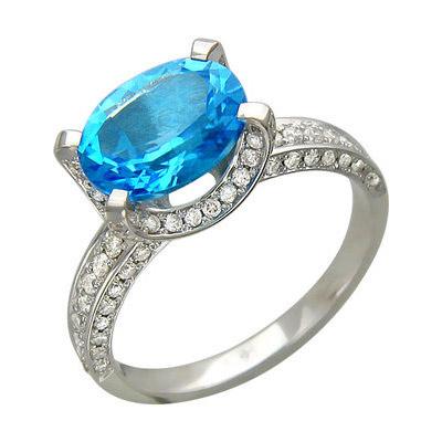 Золотое кольцо Ювелирное изделие 01K676803