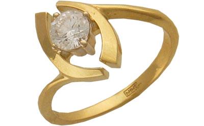 Золотое кольцо Ювелирное изделие 01K683036