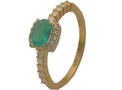 Золотое кольцо Ювелирное изделие 01K683278