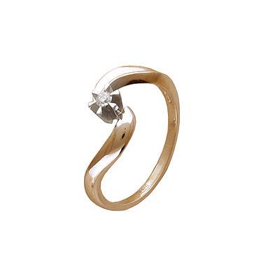 Золотое кольцо Ювелирное изделие 01K683361
