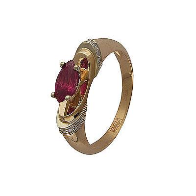 Золотое кольцо Ювелирное изделие 01K683639