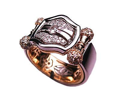 Золотое кольцо Ювелирное изделие 01K683974L