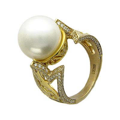 Золотое кольцо Ювелирное изделие 01K684080
