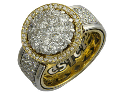 Золотое кольцо Ювелирное изделие 01K684206ZL золотое кольцо ювелирное изделие 01k673574l