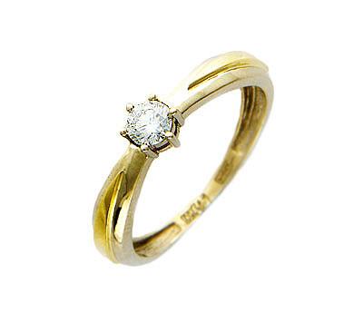 Золотое кольцо Ювелирное изделие 01K684416