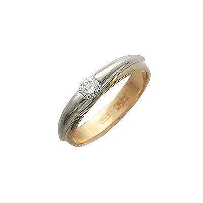 Золотое кольцо Ювелирное изделие 01K684831 золотое кольцо ювелирное изделие 01k643576