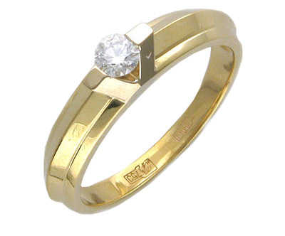 Золотое кольцо Ювелирное изделие 01K685040 ювелирное изделие np1286