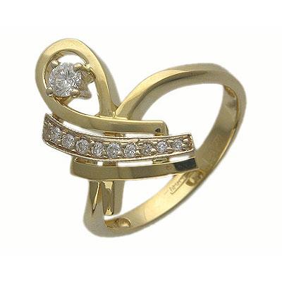 Золотое кольцо Ювелирное изделие 01K685051