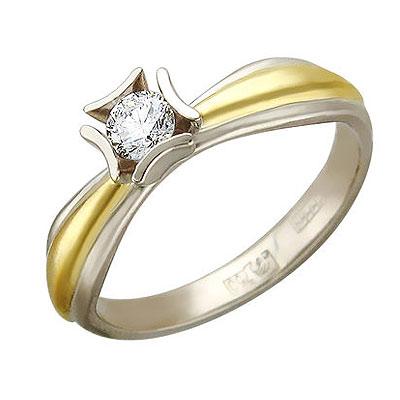 Золотое кольцо Ювелирное изделие 01K685427