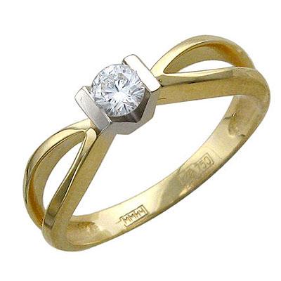 Золотое кольцо Ювелирное изделие 01K685534