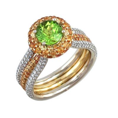 Золотое кольцо Ювелирное изделие 01K686509