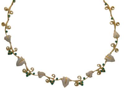 Золотое колье Ювелирное изделие 01L640587