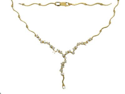 Золотое колье Ювелирное изделие 01L640602