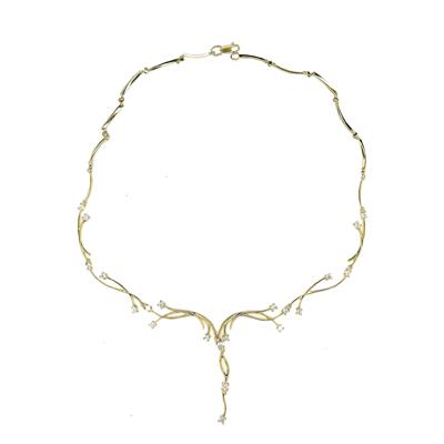Золотое колье Ювелирное изделие 01L640604