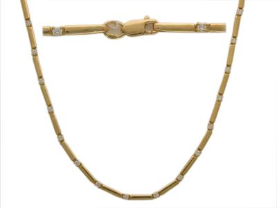 Золотое колье Ювелирное изделие 01L640625 колье lucky line колье
