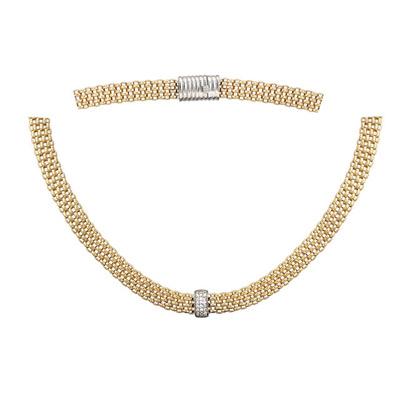 Золотое колье Ювелирное изделие 01L661372J