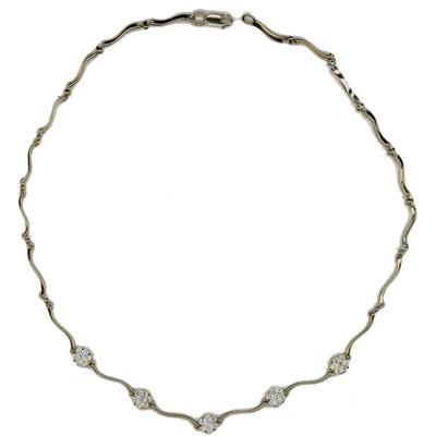 Золотое колье Ювелирное изделие 01L670636Z