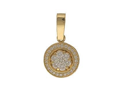 Золотой подвес Ювелирное изделие 01P613019Z золотой подвес ювелирное изделие 110026