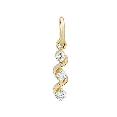 Золотой подвес Ювелирное изделие 01P615820 золотой подвес ювелирное изделие 104240