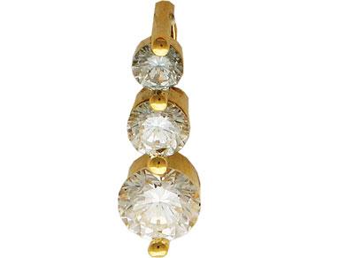 Золотой подвес Ювелирное изделие 01P642933 ювелирное изделие золотой подвес 14466rs