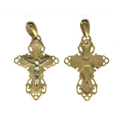 Золотой крест Ювелирное изделие 01R680654