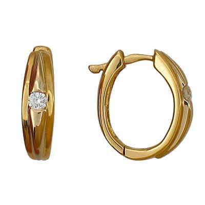 Золотые серьги  32C680067 Ювелирное изделие