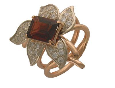 Золотое кольцо Ювелирное изделие 56K660040