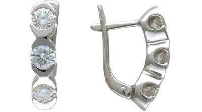 Золотые серьги  G9C670092 Ювелирное изделие