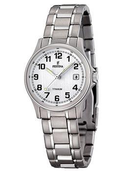 женские часы festina f16864 3 Festina Часы Festina 16459.1. Коллекция Calendario Titanium