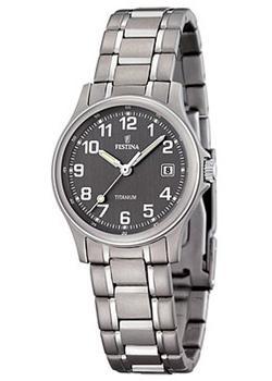 женские часы festina f16864 3 Festina Часы Festina 16459.2. Коллекция Calendario Titanium