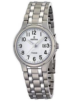 женские часы festina f16864 3 Festina Часы Festina 16461.1. Коллекция Calendario Titanium