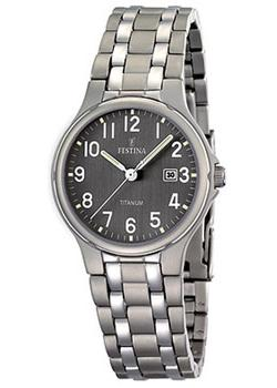 Festina Часы Festina 16461.2. Коллекция Calendario Titanium cd диск coldplay a head full of dreams 1 cd