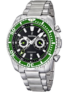 цена Festina Часы Festina 16564.6. Коллекция Chronograph онлайн в 2017 году
