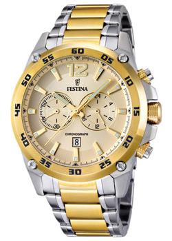 Festina Часы Festina 16681.1. Коллекция Crono Acero Sin Alarma festina часы festina 16666 4 коллекция crono acero sin alarma