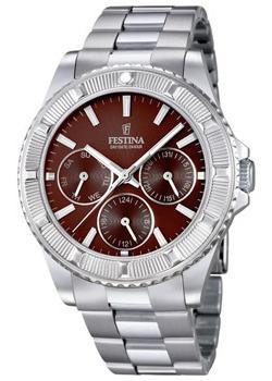 цена Festina Часы Festina 16690.4. Коллекция Vendome Collection онлайн в 2017 году