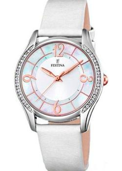 Festina Часы Festina 16944.A. Коллекция Mademoiselle endearing plus size mandarin collar lace spliced hollow out dress for women