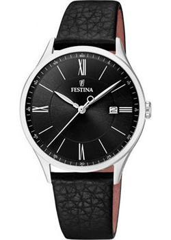 цена Festina Часы Festina 16978.4. Коллекция Retro онлайн в 2017 году
