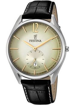 Festina Часы Festina 6857.1. Коллекция Classic everswiss часы everswiss 2787 lbkbk коллекция classic