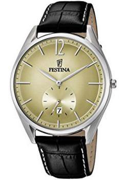 Festina Часы Festina 6857.4. Коллекция Classic everswiss часы everswiss 2787 lbkbk коллекция classic