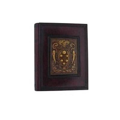 Florentia Фотоальбом кожаный Герб Медичи(23х30) - 50 листов Florentia AL24814001 фотоальбом 6171