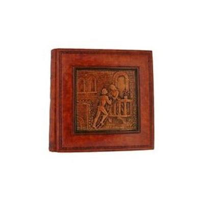 Florentia Фотоальбом кожаный в кейсе Ромео и Джульетта (33 х 33) - 60 листов. Florentia AL33610001 цена