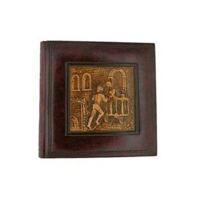 Florentia Фотоальбом кожаный в кейсе Ромео и Джульетта (35х35) - 60 листов Florentia AL35626001 цена