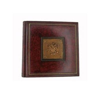 Florentia Фотоальбом кожаный в кейсе St. Dello Zar (35 х 35) - 60 листов Florentia AL35A10002 цена 2017