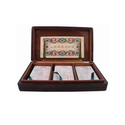 Florentia Шкатулка 23х13х4,5 см  -мя колодами карт  DA05000015