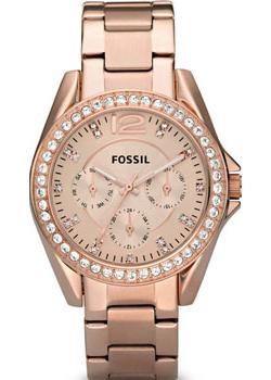Fossil Часы Fossil ES2811. Коллекция Riley fossil часы fossil es4196 коллекция idealist