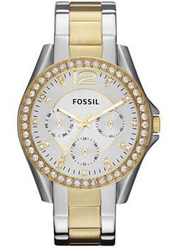 Fossil Часы Fossil ES3204. Коллекция Riley fossil часы fossil es3203 коллекция riley
